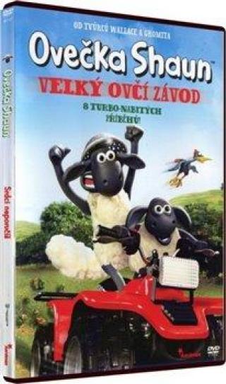 Ovečka Shaun II. - Velký ovčí závod [DVD]